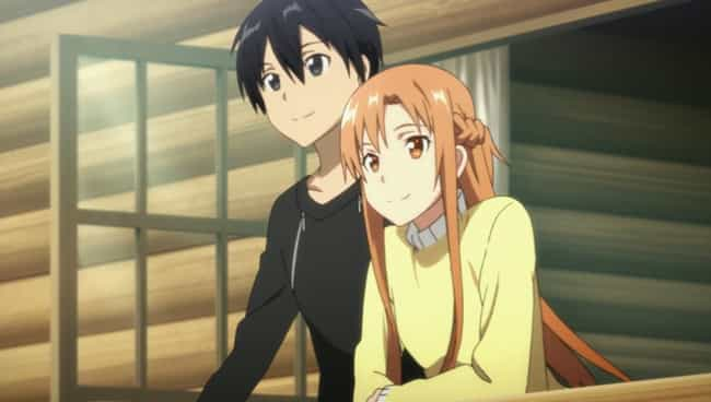 Asuna is listed (or ranked) 4 on the list The Cutest Anime Couples of All Time
