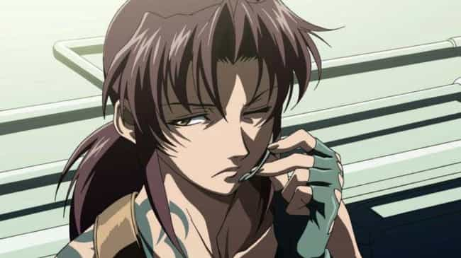 Revy is listed (or ranked) 4 on the list 13 Fallen Hero Anime Characters Who Were Overcome By Darkness