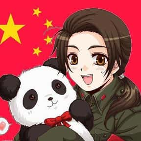China is listed (or ranked) 3 on the list The Best Anime Panda Characters