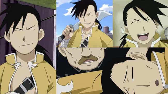 Ling Yao is listed (or ranked) 3 on the list 20+ Anime Characters Who Always Keep Their Eyes Closed
