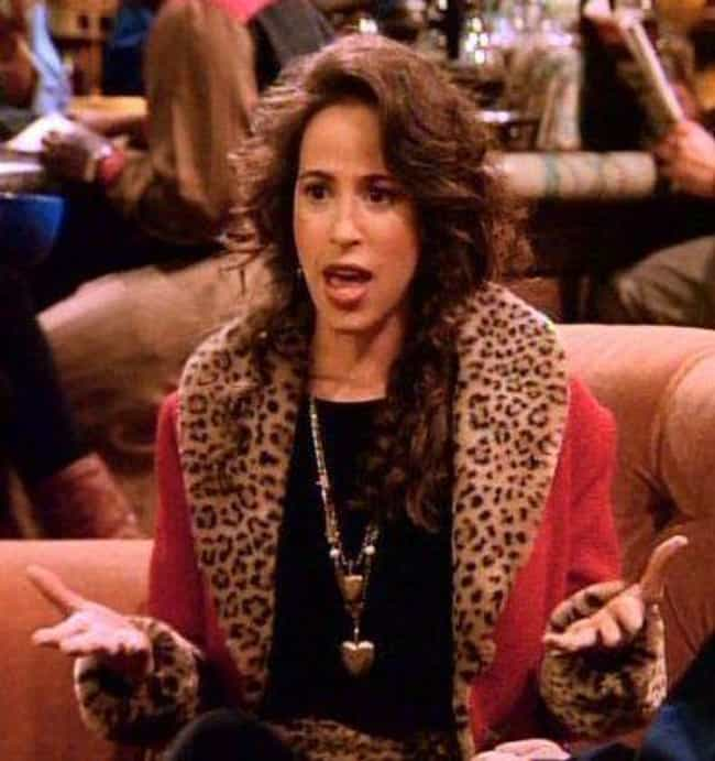 """Janice Hosenstein is listed (or ranked) 4 on the list Rank All of the Girlfriends from """"Friends"""""""