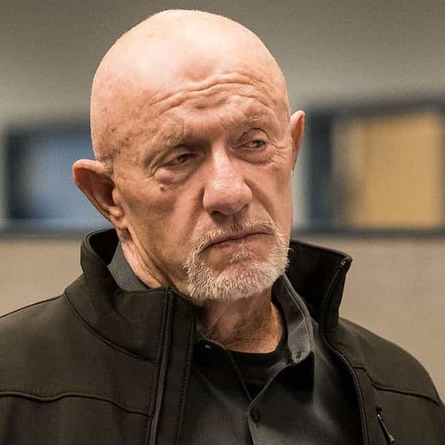 Mike Ehrmantraut is listed (or ranked) 1 on the list The Best Characters On 'Better Call Saul,' Ranked