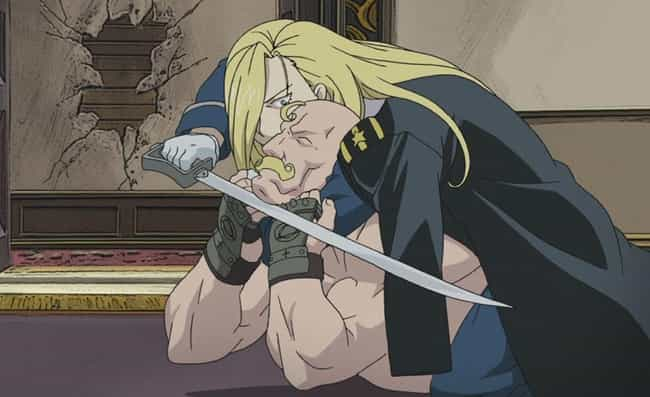 Olivier Mira Armstrong is listed (or ranked) 3 on the list The 20 Greatest Big Sister Anime Characters