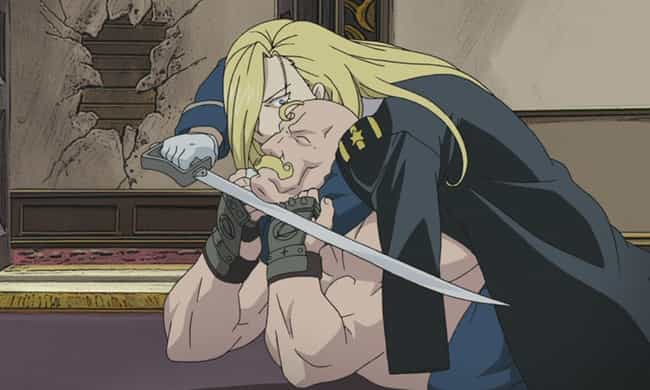 Olivier Mira Armstrong is listed (or ranked) 3 on the list The 13 Greatest Sibling Fights in Anime