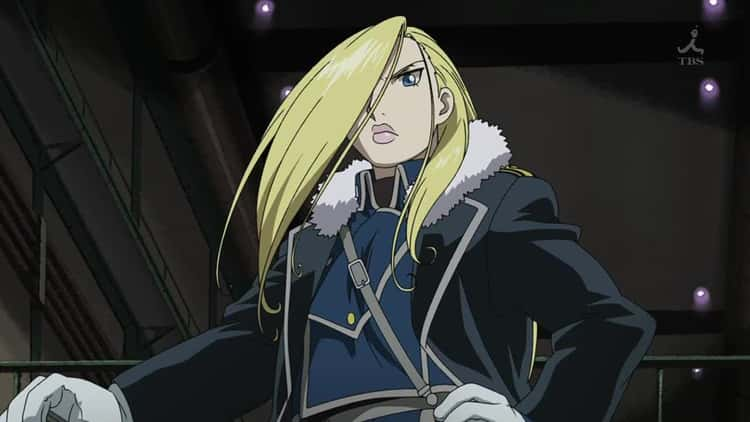 Olivier Mira Armstrong - Fullmetal Alchemist