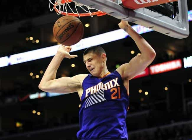 Alex Len is listed (or ranked) 1 on the list Famous Basketball Players from Ukraine
