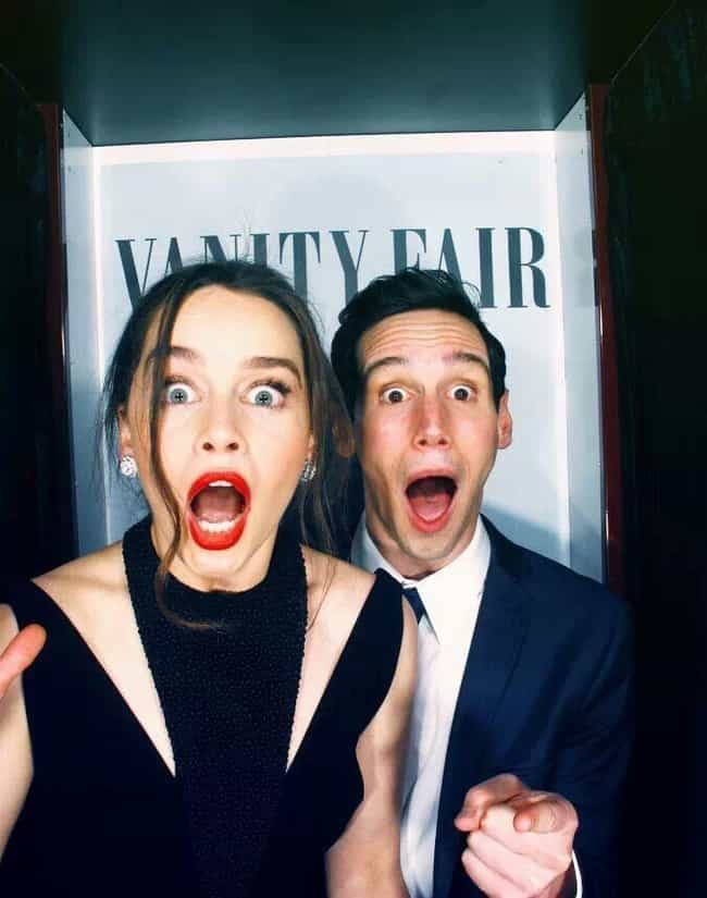 Cory Michael Smith is listed (or ranked) 2 on the list Emilia Clarke Loves and Hookups