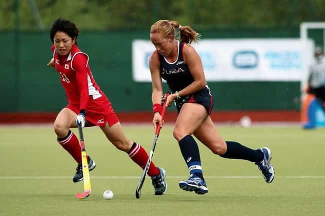 Lauren Crandall is listed (or ranked) 6 on the list Famous Female Field Hockey Players