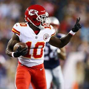 Tyreek Hill is listed (or ranked) 4 on the list The Best Fantasy Football WRs Of 2019