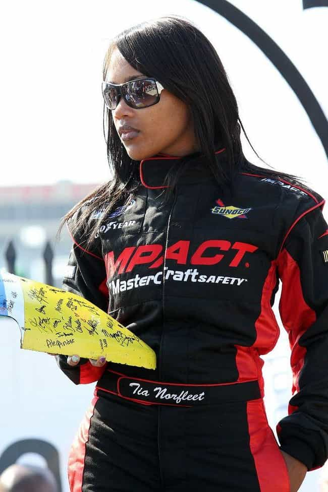 Tia Norfleet is listed (or ranked) 4 on the list Every Black Driver in NASCAR History