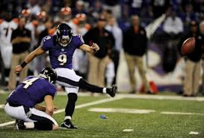 Justin Tucker is listed (or ranked) 1 on the list Who Is The Best Kicker In The NFL Right Now?