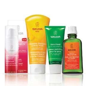 Weleda is listed (or ranked) 12 on the list The Best Natural Cosmetics Brands