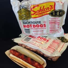 Sahlen's is listed (or ranked) 11 on the list The Hottest Hot Dog Brands Ever