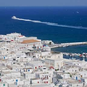 Mykonos is listed (or ranked) 13 on the list The Best Spring Break Destinations
