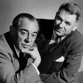 Rodgers and Hammerstein is listed (or ranked) 13 on the list These Poetic Geniuses Wrote Your Favorite Songs of All Time