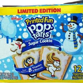 Sugar Cookie Pop-Tarts is listed (or ranked) 16 on the list The Very Best Pop-Tart Flavors