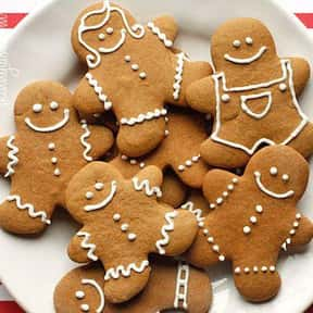 Gingerbread Cookie is listed (or ranked) 13 on the list The Very Best Types of Cookies, Ranked