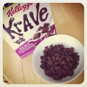 Kellogg's Krave Chocolate Cere is listed (or ranked) 10 on the list The Best Chocolate Cereal