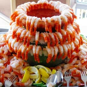 Shrimp is listed (or ranked) 9 on the list The Best Things To See At A Buffet