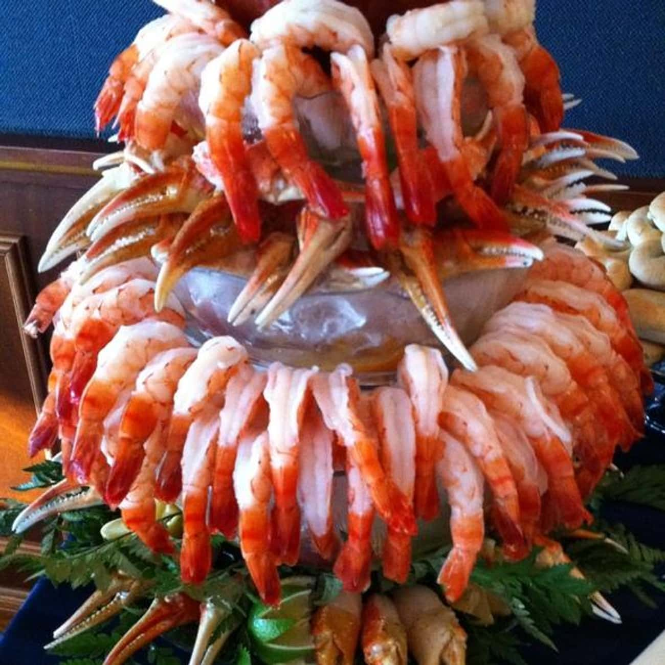 Shrimp is listed (or ranked) 2 on the list The Best (Non-Fish) Seafood, Ranked