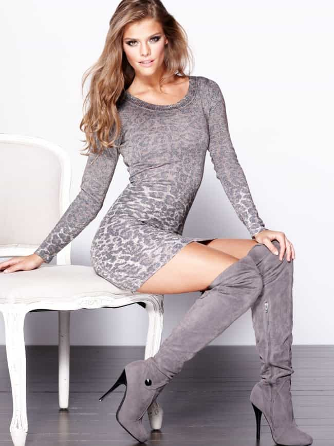 Nina Agdal is listed (or ranked) 3 on the list Women Will Notice The Stylish Boots,Us Men See The Hot Girls
