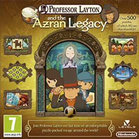 Professor Layton and the Azran is listed (or ranked) 25 on the list The Best Nintendo 3DS Games of All Time, Ranked by Fans