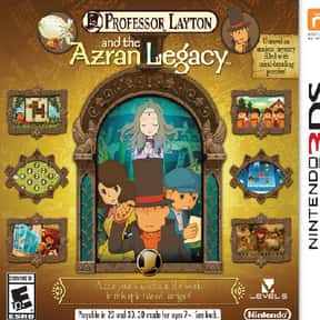 Professor Layton and the Azran is listed (or ranked) 6 on the list The Best Professor Layton Games