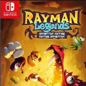Rayman Legends: Definitive Edi is listed (or ranked) 8 on the list The Best Co-op Games For Nintendo Switch