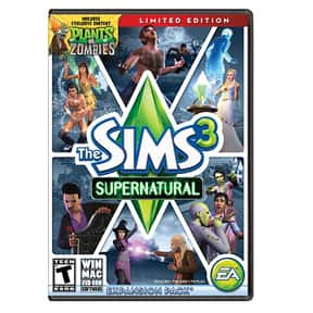 The Sims 3: Supernatural is listed (or ranked) 13 on the list The Best Werewolf Video Games of All Time