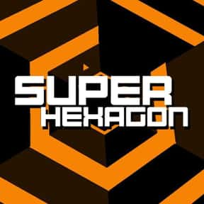 Super Hexagon is listed (or ranked) 14 on the list The All-Time Best PC Arcade Games On Steam