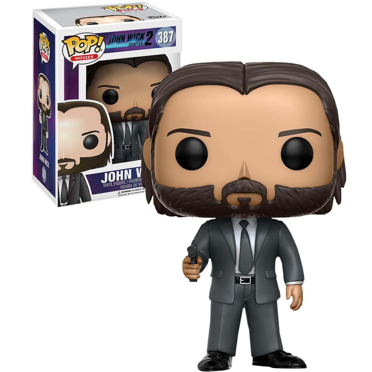 John Wick is listed (or ranked) 2 on the list Funko Pops That Actually Look Like The Characters