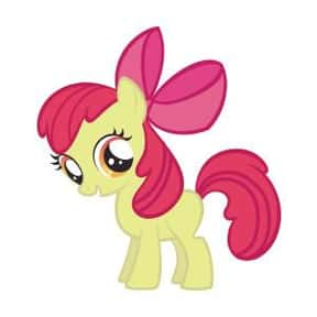Apple Bloom is listed (or ranked) 10 on the list The Best My Little Pony: Friendship Is Magic Characters