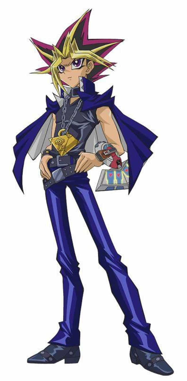 Yami Yugi is listed (or ranked) 2 on the list The 25 Most Baffling Anime Hairstyles That Completely Defy Gravity