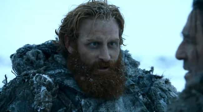 Tormund Giantsbane is listed (or ranked) 4 on the list All Wildlings on Game of Thrones