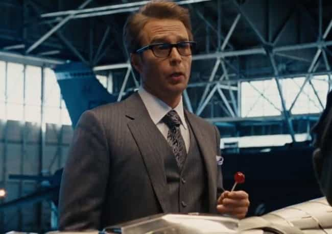 Justin Hammer Expo Atten... is listed (or ranked) 1 on the list The Weakest Characters In The MCU, Ranked