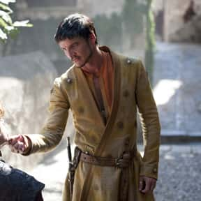 Oberyn Martell is listed (or ranked) 6 on the list The Most Hardcore Game of Thrones Characters