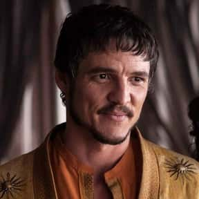 Oberyn Martell is listed (or ranked) 25 on the list The Greatest TV Character Losses of All Time