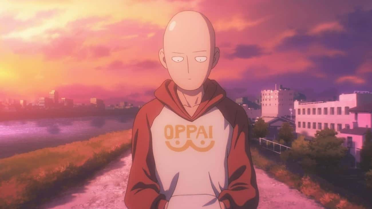 One Punch Man is listed (or ranked) 4 on the list 15 Random Anime You Should 100% Watch If You Haven't Seen Them
