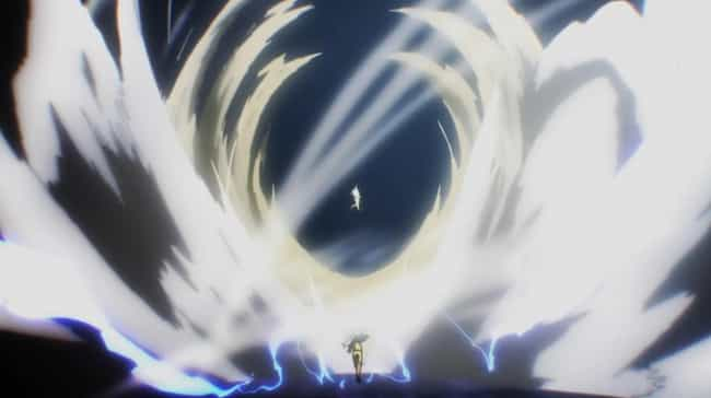 One Punch Man is listed (or ranked) 1 on the list The 15 Most Overpowered Anime Abilities