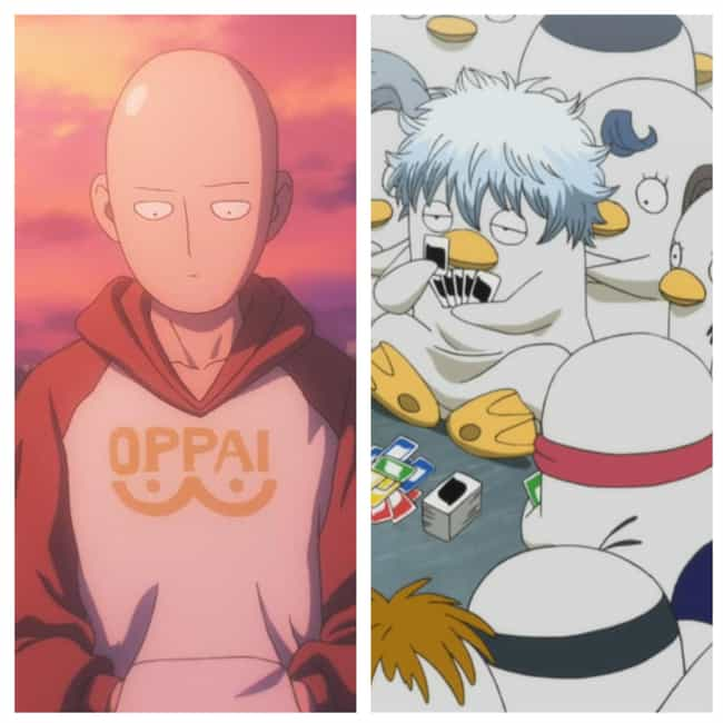 Saitama is listed (or ranked) 5 on the list Anime Characters Who Would Fit In Perfectly In Other Anime
