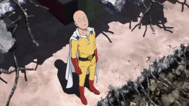 Saitama is listed (or ranked) 4 on the list The 16 Most Beloved Anime Characters That Literally No One Hates