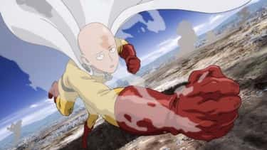 Saitama - 'One-Punch Man' is listed (or ranked) 2 on the list The 14 Greatest Anime Brawlers Of All Time