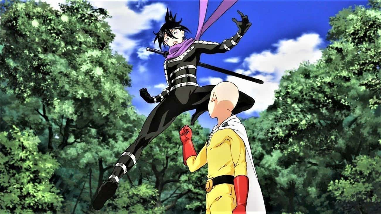 Saitama vs. Speed o Sound Soni is listed (or ranked) 4 on the list 13 Flawless Victories Where The Hero Takes Zero Damage