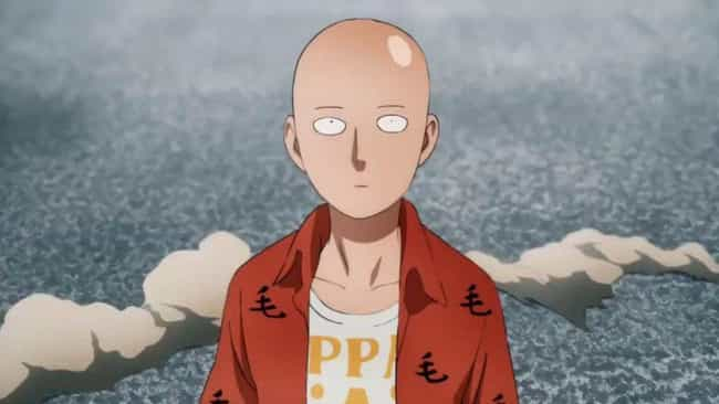 Saitama is listed (or ranked) 4 on the list 15 Anime Characters Who Don't Get The Respect They Deserve