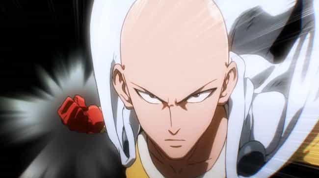 Saitama is listed (or ranked) 1 on the list How Utterly Overpowered Anime Protagonists Made Their Shows More Interesting