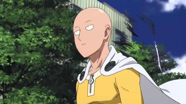 Saitama is listed (or ranked) 4 on the list 13 Anime Characters Who Are Probably Asexual