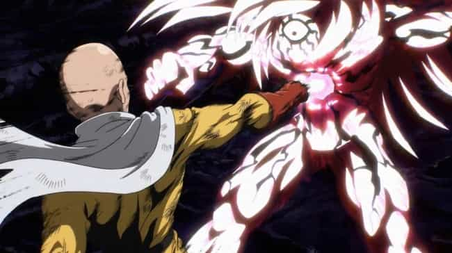 Saitama is listed (or ranked) 1 on the list The Most Ridiculously Overpowered Anime Characters of All Time