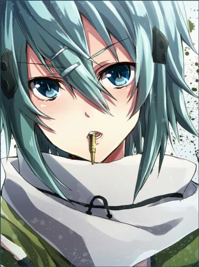 Sinon Is Listed Or Ranked 2 On The List Female Anime Characters With