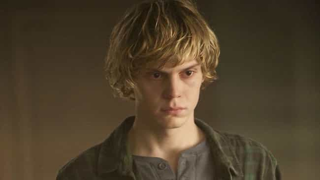 Tate Langdon is listed (or ranked) 1 on the list All Of Evan Peters's Roles In 'American Horror Story,' Ranked By Fans