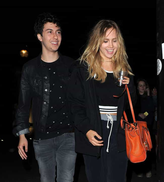 Suki Waterhouse is listed (or ranked) 4 on the list Nat Wolff Loves and Hookups
